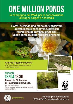 WWF Mantovano 13 aprile One Million Ponds  © WWF Italia